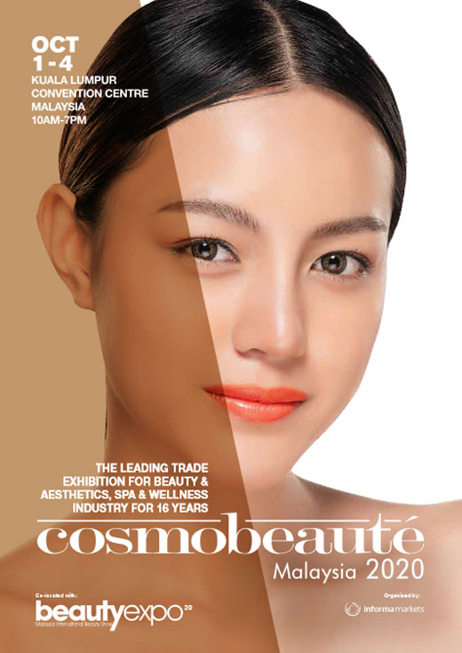 Cosmobeauté Asia 2020 / Trade Exhibition for Beauty & Aesthetic, Spa & Wellness Industry